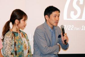 左からモデルの舟山久美子さん、日本理学療法士協会の齋藤さん